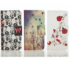Flip Wallet Leather Folder Stand Case Cover For Apple iPhone Samsung Galaxy UK