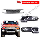 Headlights Led Halo Projector With Grille For Toyota 2007-2014 FJ Cruiser