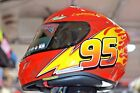 HJC x Lightning Mcqueen RPHA11 PRO Full Face Motorcycle Helmet Men's Size MEDIUM