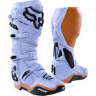 Fox Racing Instinct Light Grey Motocross Boots Off-Road Enduro SALES OUTLET