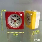 6cm Ascending Travel Alarm Clock Suitcase Pocket Small Table Desktop Clock