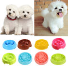 Portable Puppy Dog Slow Down Eating Feeder Dish Pet Cat Dog Feeding Food Bowl