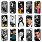 ELVIS PRESLEY THE KING ROCK N ROLL PHONE CASE COVER for iPHONE 4 5 6 7 8 X