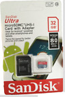 SanDisk Ultra microSDHC UHS-I Card 32GB with Adapter