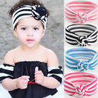 Baby Candy Color Stripe Infant Kid Girl Hairband Phtography Props Accessories