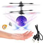 Hand Flying UFO helicopter Ball Saucer Hovering Induced Infrared Sensor Floating