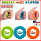 Hand Grip Strengthener Forearm Wrist Finger Fitness Exerciser Ring Gripper Set image