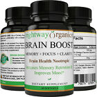 Brain Boost Nootropics Extra Strength Brain Supplement for Focus, Energy, Memory