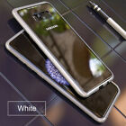 Magnetic Absorption Tempered Glass Metal Case For Samsung S8 Plus Note8 S7 Edge