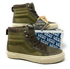 Vans Sk8 Hi Gore tex All Weather MTE Mountain Bison Black Green Mens Shoes