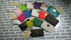 Внешний вид - NWT Michael Kors Leather or PVC Fulton Key Pouch Wallets