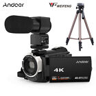 WiFi 4K HD 1080P 48MP 16X ZOOM Digital Video Camera Camcorder DV