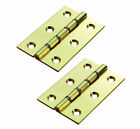 Washered Door Hinges Phosphor Bronze Brass Internal Butt Door Hinge Pair