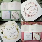 Wedding Invitations Personalised • Handmade Day Evening Invites • FREE Envelopes