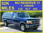 1996+Ford+F%2D150+NO+RESERVE+4X4+1+OWNER+SUPER+CLEAN+MANUAL+LOOK%21%21%21