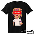 Lil' Pump Esskeetit Unisex T-shirt. Funny Cartoon Mashup hip hop concert shirt