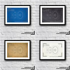 Star Trek - Enterprise NCC-1701-D - Minimalist Blueprint - Galaxy Class on eBay