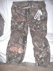 Mens 3X Water Proof Rain Pants Mossy Oak Camo Pants Non Insulated Hunting Pants