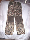 Mens Small Camo Pants Water Proof Pants Mossy Oak Camo Hunting Pants Lined Pants