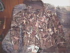 Mens Large Mossy Oak Camo Hunting Coat Insulated Jacket Water Proof Jacket Warm