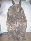 Mens Large Tall Bibs Non Insulated Bibs Realtree Camo Bib Overalls Water Proof