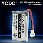 3.7V 380MAH 600MAH BACKUP BATTERY FOR RC QUADCOPTER DRONE HUBSAN H107 H107C 7AC