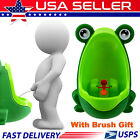 Boys Froggy Potty Training Toilet Toddler Bathroom Standing Urinal Trainer Kids