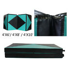 6'/8'10' Home Gymnastics Mat Folding Exercise Sports Mat Stretching Yoga Pad New image