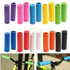 1 Pair Motorcycle Scooter Bicycle Anti-Slip Soft Rubber Handlebar Hand Grips New
