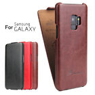Luxury Vertical Leather Filp Case PU Cover For Samsung S8 S9 Plus S7 Edge Note 8