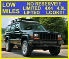2001+Jeep+Cherokee+NO+RESERVE+LIMITED+HEATED+SEATS+LIFTED+3%22+LOOK%21%21%21