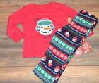 Jammies for Your Families 2 Pc Toddler Sleepwear Christmas Pajama Set Size 2T
