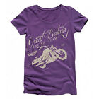 Triumph Megan V2 Official Motorcycle Biker TShirt Womens $13.39 USD on eBay