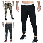 Men Casual Running Gym Sweatpants Camo Sports Pants Gym Long Trousers Slim 14240