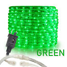 Green LED Rope Lights 10' 25 50 100 150ft, Connectable Indoor Outdoor Waterproof