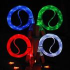 LED LIGHT UP CHARGER USB CABLE FOR IPHONE 7 6 5 DATA SYNC IPAD LEAD