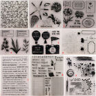 Happy Diary Transparent Silicone Clear Stamps DIY Scrapbook Embossing Card Sea