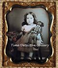 199573 Daguerreotype Image of Girl with Black Doll 1852 Wall Print Poster Plakat