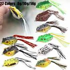 14g/10g/8g Large Frog Topwater Fishing Lure Crankbait Hook Bass Bait Tackle