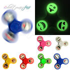 Colorful Glow Luminous Emoji Fidget Smile Face Hand Spinner For Autism and ADHD