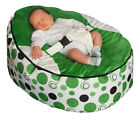 Top quality Baby Bean Bag with 2 Removable covers &amp; Safety Harness- UK Seller <br/> Supplies filled &amp; 2 removable covers. Factory direct.