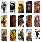 CHEWBACCA STAR WARS WOOKIE JEDI WHITE PHONE CASE COVER for iPHONE 5 6 7 8 X $7.35 USD on eBay