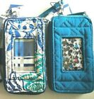 Vera Bradley RFID Smartphone Wristlet Signature Cotton ( Choose Pattern )  - F S