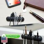 Adhesive 4 / 7 -Slot Wire Cable Cord Clip Organizer USB Charger Holder Fixer
