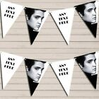 Elvis Presley Black & White Birthday Bunting Garland Party Banner