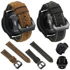 Genuine Leather Belt Wrist Strap Bracelet Watch Band for Samsung Galaxy Gear S3 image