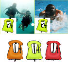 Kids/ Adults Inflatable Jacket Vest for Snorkeling Surfing Boating Swimming TOP