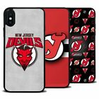 For iPhone Samsung Galaxy NHL New Jersey Devils Ice Hockey Silicone Case Cover $8.45 USD on eBay