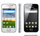 New Samsung Galaxy Ace White And Black S5830i 3g Sim Free Unlocked Mobile Phone