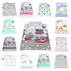 4 Pcs Bedding Set Duvet & Pillow + Covers Set Baby Bedding fit PRAM /CRIB /Moses